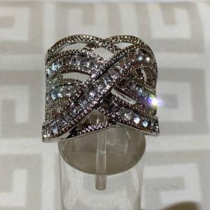 Jewelry - Womens 3.10ctw Paved Zircons Ring